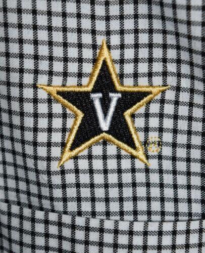 Men's Vanderbilt University Long Sleeve Button Dow