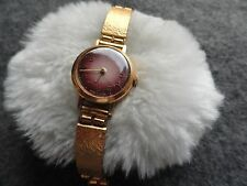 Made in the USSR Zaria 17 Jewels Vintage Ladies Wind Up Watch