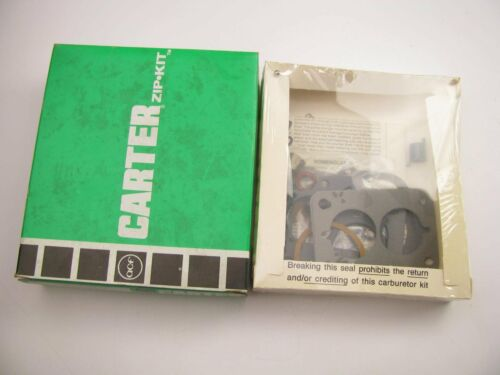 Carter 902-312A 2-BBL BBD Carburetor Rebuild Kit For 8104 8107 8117 8128 8129