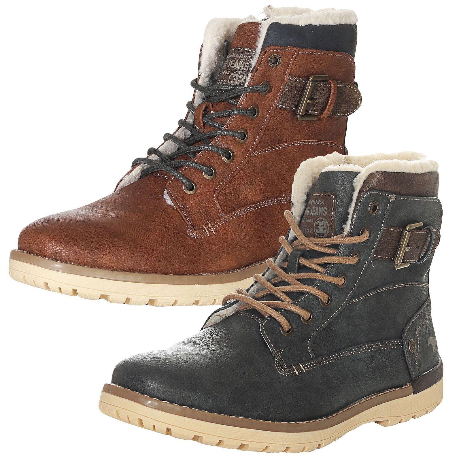beste Qualität Mustang Herren Schuhe Winterschuhe Stiefel