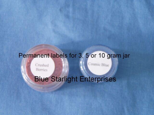 108 blank jar label permanent for 3 5 10 gram jar 75 ebay