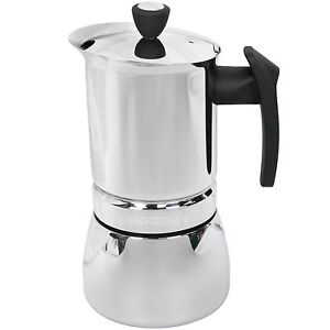 Image Is Loading Cafe Ole Stainless Steel Stove Top Cafetiere Induction