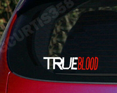 TRUE BLOOD Vinyl Decal Sticker Bill Sookie Eric Vampire Lafayette Tara Fangs Tru