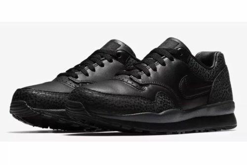 Nike Air Safari QS Mens Size 11.5 shoes Triple Black AO3295 002
