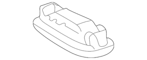 Genuine Mercedes-Benz Dome Lamp Assembly 210-820-36-01
