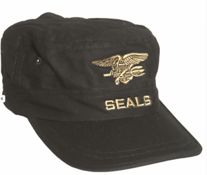 Black Navy Seals Baseball Cap US American Military Peak Sun Hat Military New