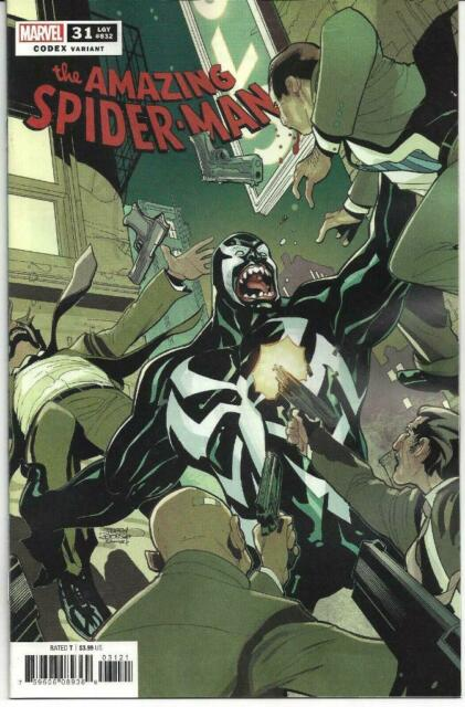Amazing Spider-Man #31 Codex 1:25 Variant Marvel Comics 2019 NM 9.6