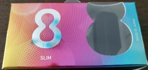 Black. Target 8 Flight Slim Dart Flights