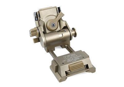 L4G24 NVG Helmet Mount CNC Wilcox Fast Mich PVS15 PVS18 Marking Ver Plastic