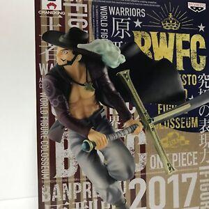 One-Piece-Dracule-Mihawk-Figure-Banpresto-World-Figure-Colosseum-Japan-Authentic