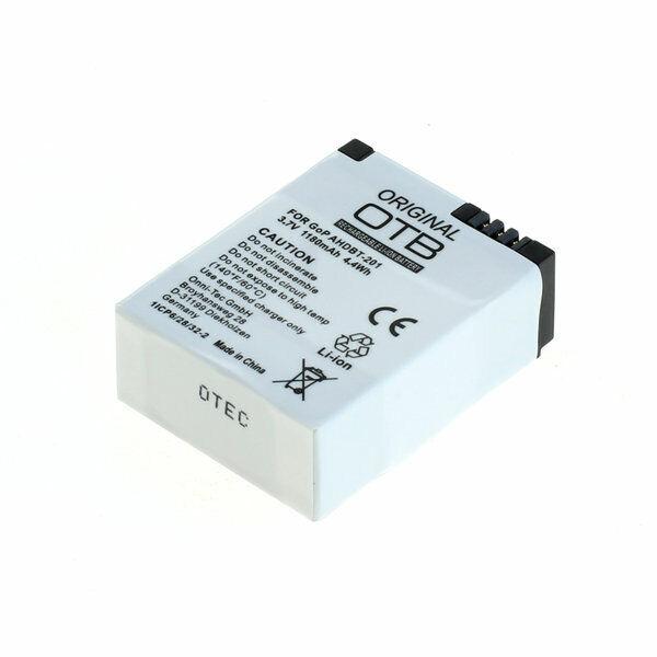 2019 DernièRe Conception Otb Batterie Accu Pour Gopro Hero3/hero3 + Li-polymère Garantie 100%