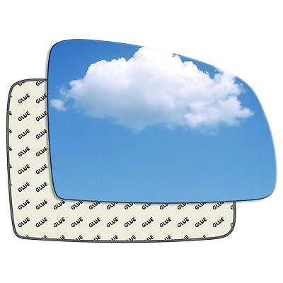 Hightecpl 21RS Right Driver Side Convex Door Wing Mirror Glass