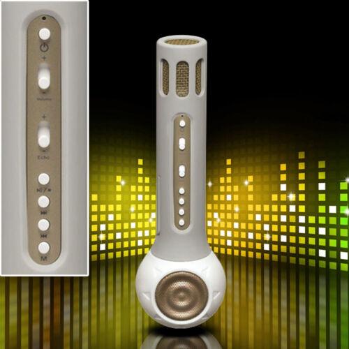 Karaoke Musik Bluetooth Mikrofon Kinder USB SD Party Player AUX Lautsprecher