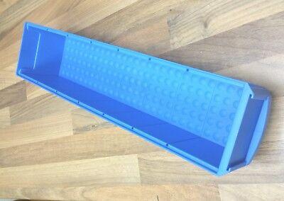 24 Industriebox Lagerbox Lagerkasten Universalbox 400x91x81 mm blau