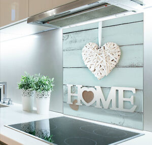 60cm  x 70cm Digital Print Glass Splashback Heat Resistant Up to 500°c  471