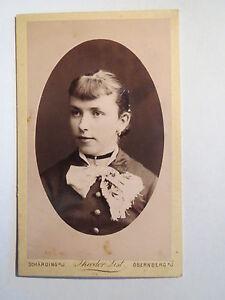 Schaerding-Obernberg-OO-1884-Frau-im-Kleid-Portrait-CDV