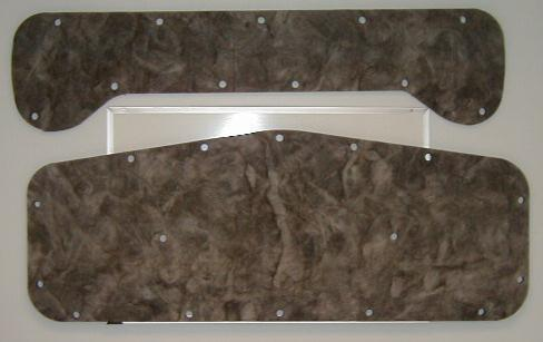 1973-1978 CHRYSLER NEW YORKER AND NEWPORT HOOD INSULATION KIT 2 PIECES