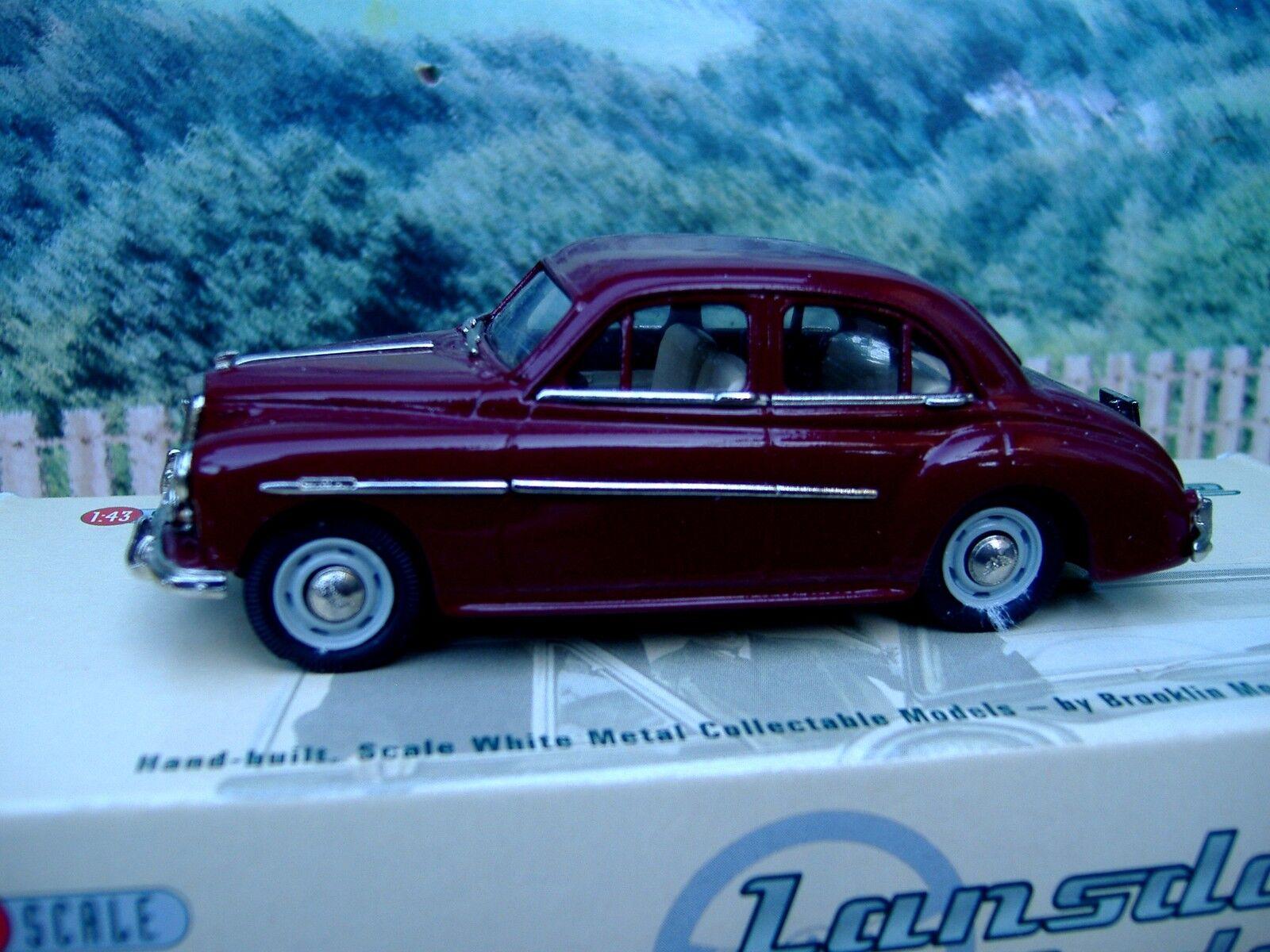 1 43 Lansdowne Brooklin (England)   1957 Wolseley 15 50 Weiß metal