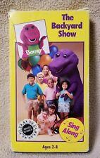 Barney The Backyard Show Vhs 1988 Ebay