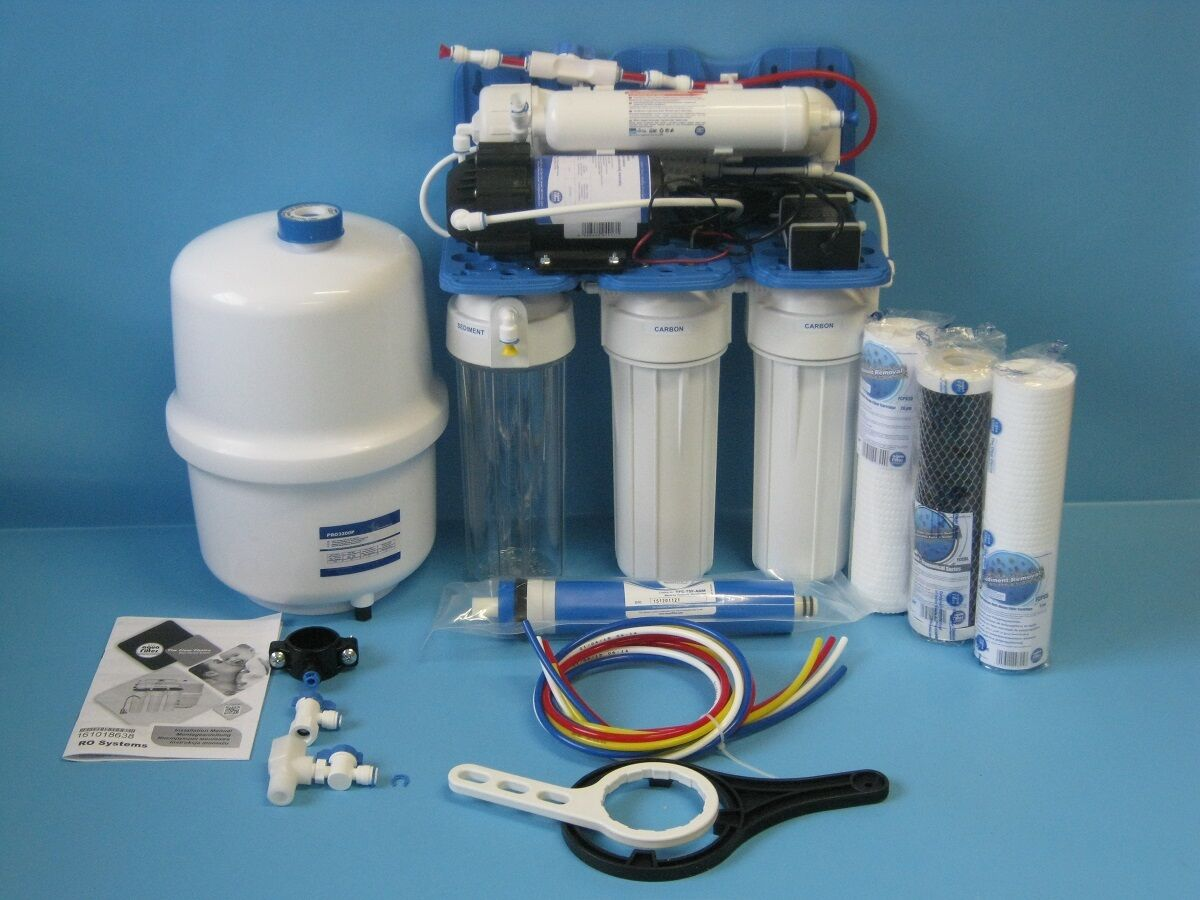 Aquafilter 5 vitesses puissance osmose inverse FILTRE à EAU insTailletion avec