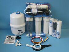 Aquafilter®5 Stufen POWER Umkehrosmose Osmose Wasserfilter Anlage mit Druckpumpe