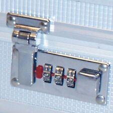 Koffer - Zahlen - Schloss Schlösser Verschluss Verschluß Riegel Lock SET (60946)