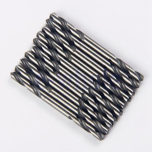 """10Pcs 1//8/"""" Diameter 4241 Hss Metal Drill Bits 57-60 Hardness Straight Shank K6"""