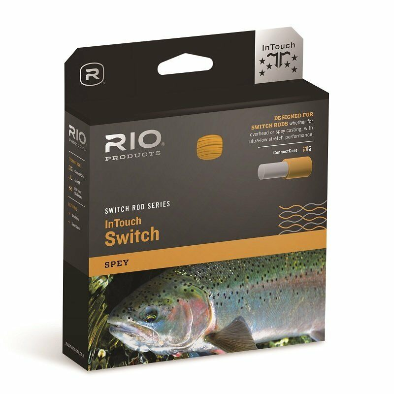NEW RIO IN TOUCH SWITCH SWITCH SWITCH LINE 350 GR.  5/6 WEIGHT FLOATING SWITCH FLY LINE 0a56d4