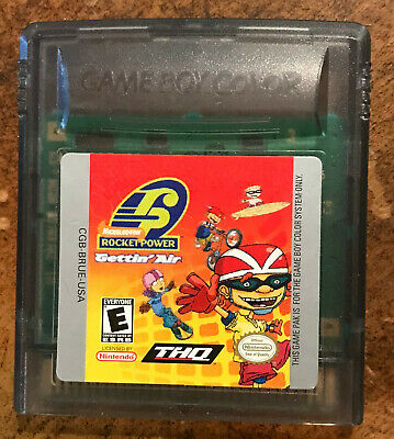 Rocket Power Gettin Air Gameboy Color Game Cleaned Polished Ebay
