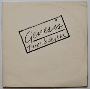 Genesis: Three Sides Live Vinyl LP (Atlantic, 1982, SD 2-2000, Gatefold)