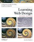 Learning Web Design : HTML, Graphics and Beyond by Jennifer Niederst Robbins and Jennifer Niederst (2003, Paperback)