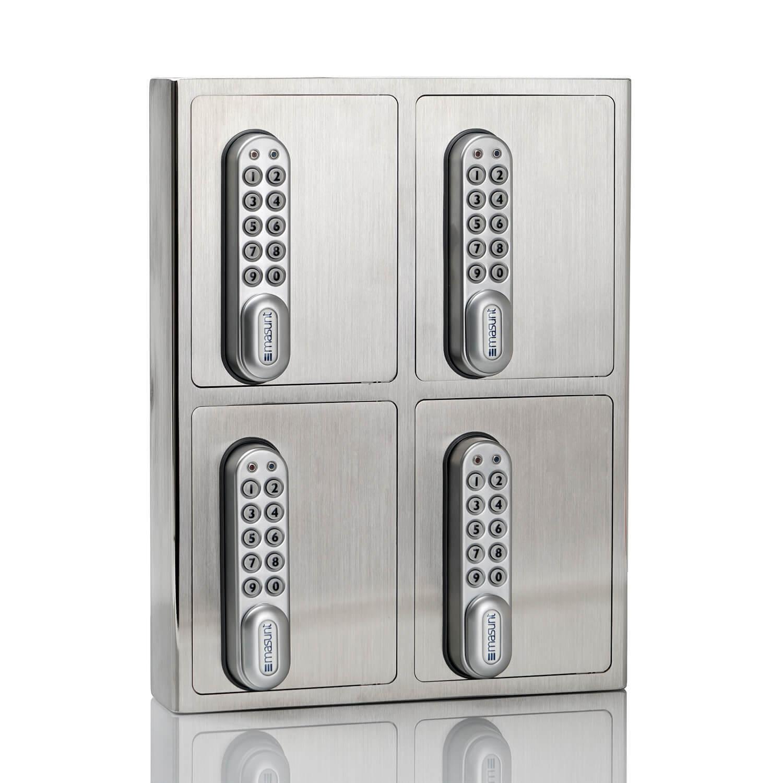 Masunt Keybox Schlüsselsafe 4er - V2A