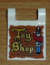 "Lego City 1 Fahne / Flagge (2 x 2) mit Aufdruck ""Toy Shop"""