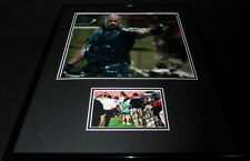 Dwayne Johnson The Rock Signed Framed 16x20 Photo Poster Display JSA Furious 7