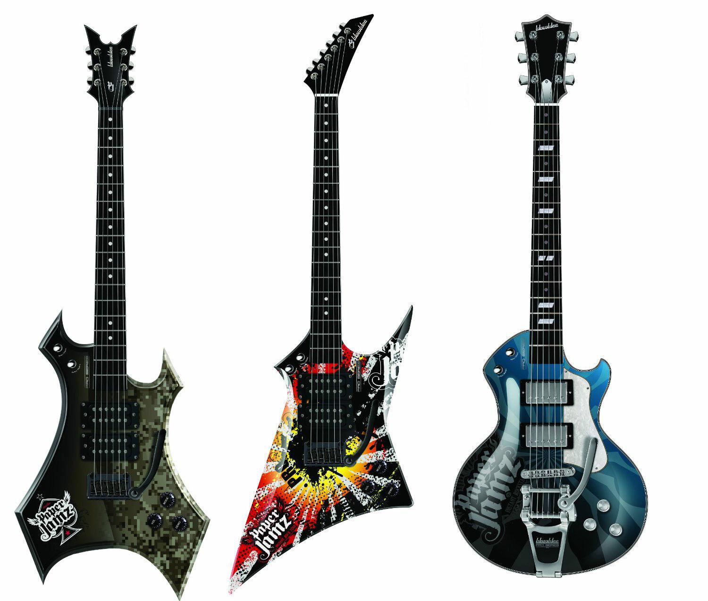 Neu - Wowwee Papier Jamz pro Gitarre Serie - Auswahl 1 Gitarre Ihre Stil