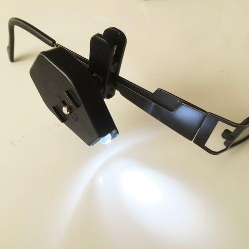 LAMPE LED PUISSANTE A FIXER SUR LUNETTE (BRICOLER LIRE) BAJA HPI 5B FG 1/10 K9