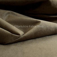 10 Metres Of Luxurious Plump Chenille Invitingly Soft Upholstery Fabric In Brown