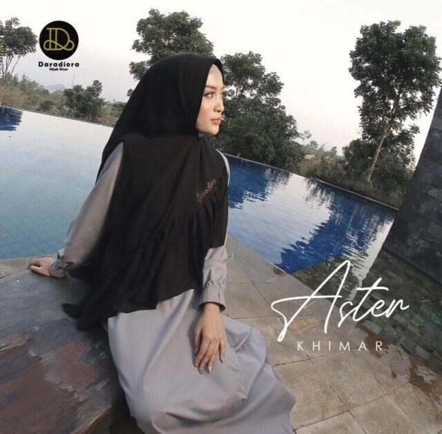 Safira Khimar Instant Hijab One Piece Pinless Slip On HeadScarf Long Jilbab