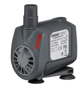 eheim compact on aquarium pumps 300 600 1000 2100 water flow pump ebay. Black Bedroom Furniture Sets. Home Design Ideas