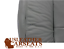 2004-Ford-F150-Lariat-Driver-Side-Bottom-Replacement-Leather-Seat-Cover-Gray miniature 7
