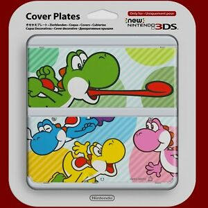 COVER-PLATES-Spring-Yoshi-for-New-Nintendo-3DS-only-Brand-New-amp-Sealed