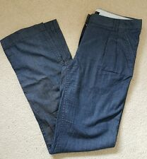 NEW Tommy Hilfiger Blue trousers Rome regular fit UK size 10, US 6, EUR 38
