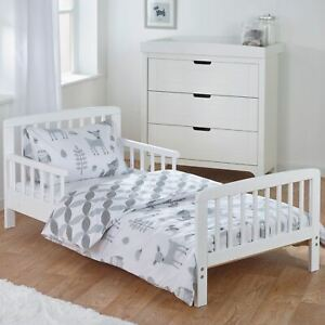 Foret-Contes-5-IN-1-Junior-Ensemble-de-Housse-Couette-Literie-Bundle-Drap-Housse