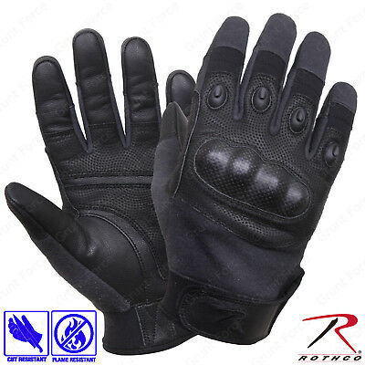 3 COLORS MILITARY NOMEX FIRE RESISTANT TACTICAL HARD KNUCKLE SHOOTING GLOVES