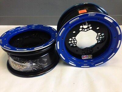 "DWT ROK-OUT ATV Front Wheel Black 10/"" 10x5 4+1 4//156 YFZ450R YFZ450X 450R 450X"