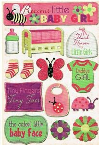 FC - Karen Foster - Daddy's Girl Scrapbooking Stickers 10983