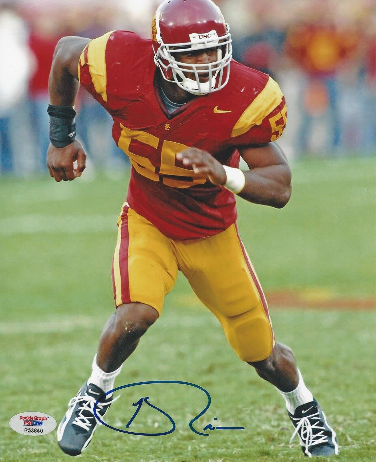 Keith Rivers Signed USC Trojans 8x10 Photo PSA/DNA # R53840