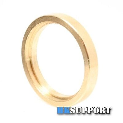 2 Pcs x 17mm To 20mm Brass Adapter Ring For CREE LED Flashlight Driver