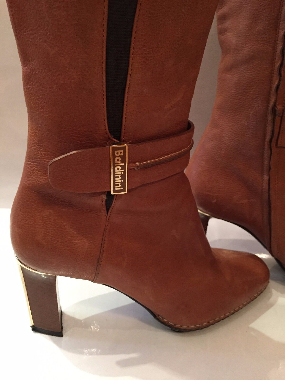 centro commerciale di moda BALDININI Pelle echt Leder stivali Tg. 38 38 38  migliore qualità