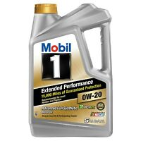 Mobil 1 5-Quart Extended Performance 0W-20 Motor Oil